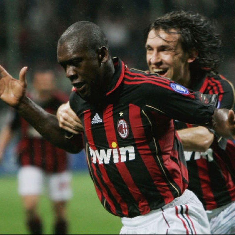 Seedorf's Official Milan Signed Shirt, 2006/07