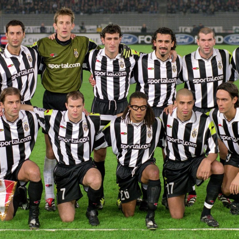 Bachini's Juventus Match Shirt, 2000/01