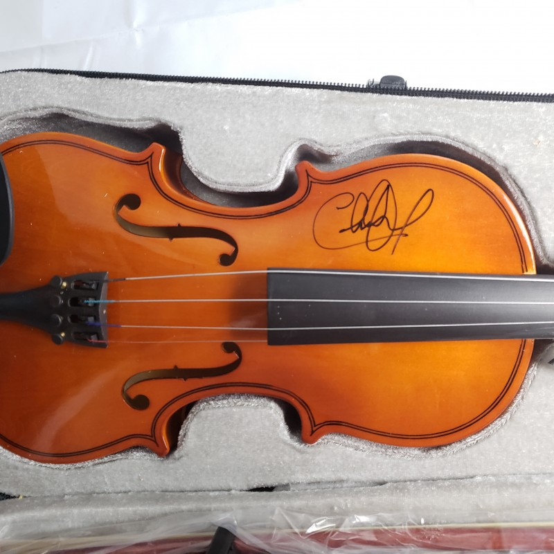 Charlie Daniels Hand Signed Fiddle