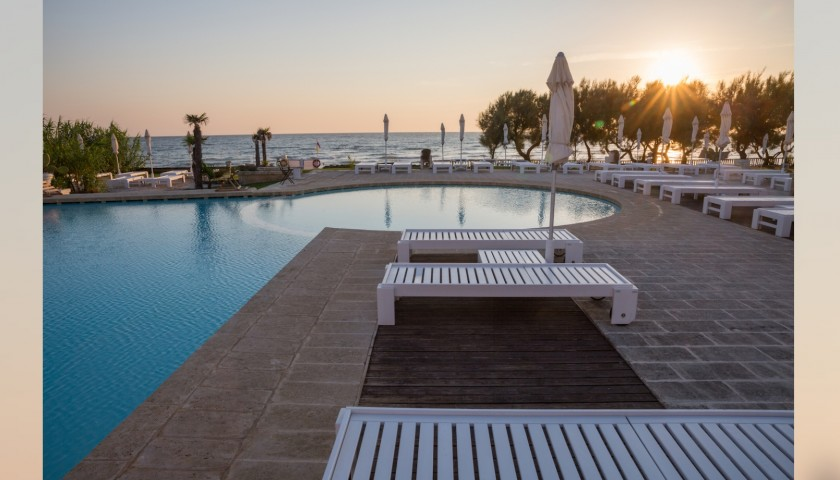 Overnight Stay for 2 at Hotel Canne Bianche in Apulia, Italy