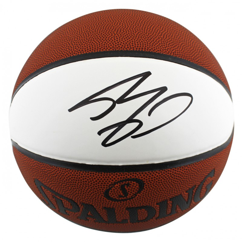 Shaquille O'Neal Signed White Panel Basketball
