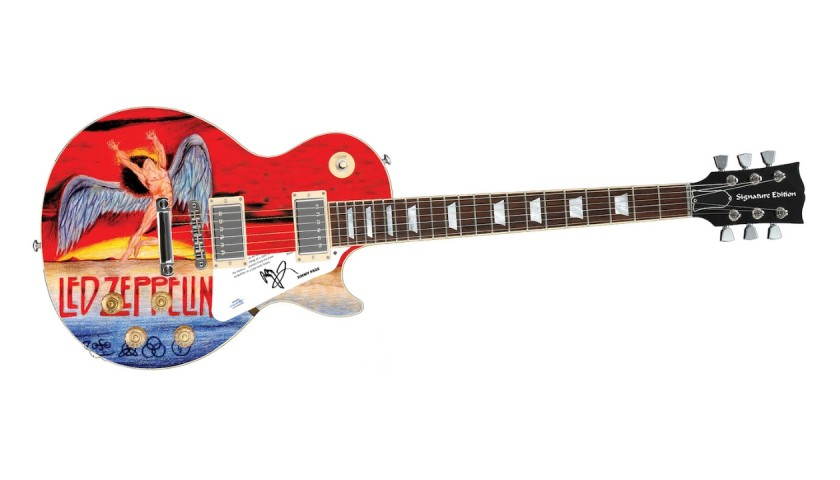 Jimmy Page (Led Zeppelin) Signed Guitar