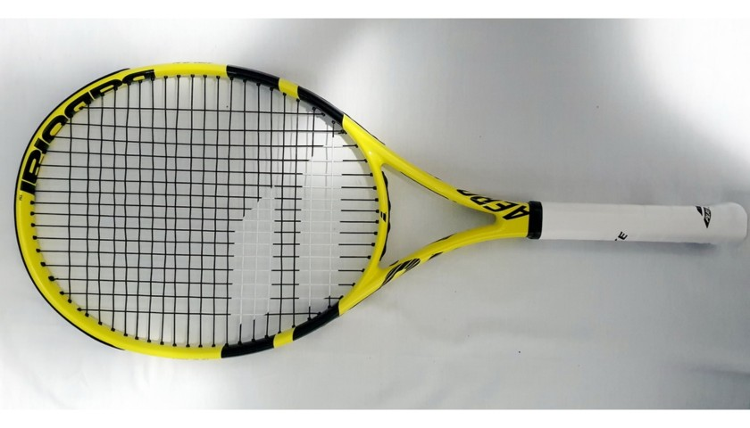 Babolat Racquet Signed by Rafa Nadal