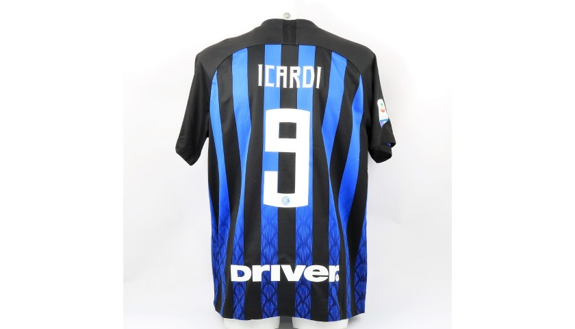 Icardi's Official Inter Signed Shirt, 2018/19