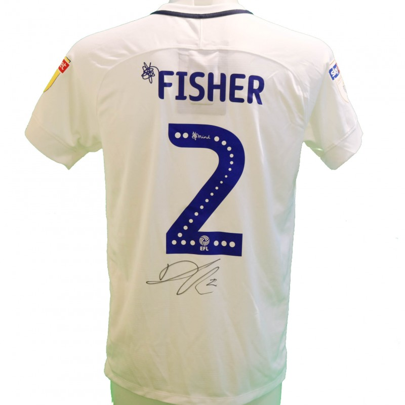 Fisher's Preston Worn and Signed Poppy Shirt