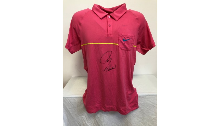 Rafa Nadal's Official Signed Polo Shirt, Roland Garros 2009