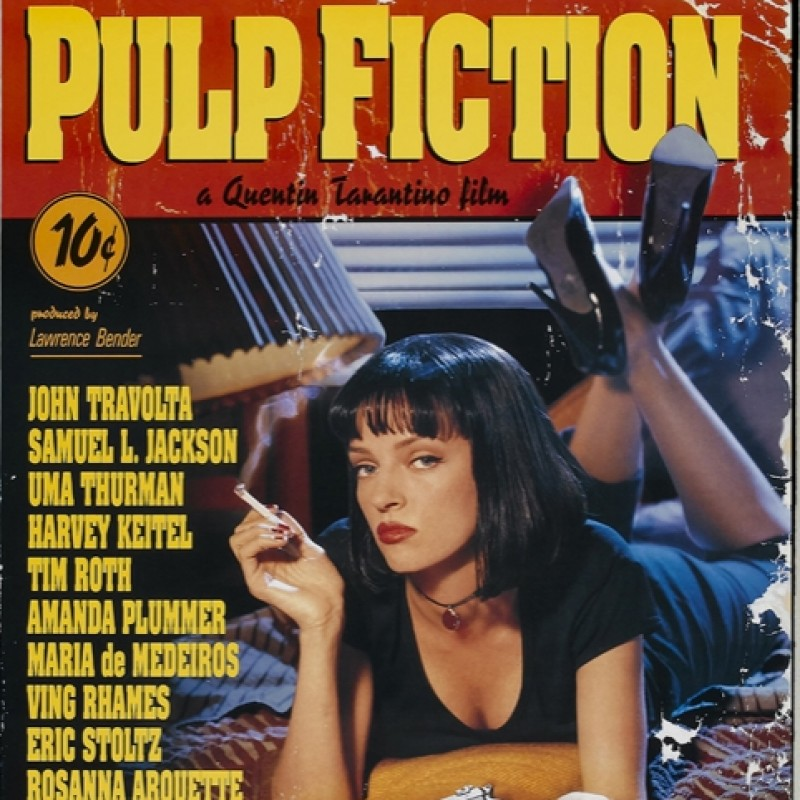 "John Travolta ""Pulp Fiction"" Signed Print"