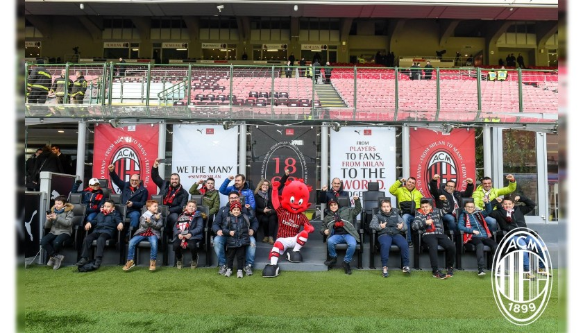 Enjoy the AC Milan-Juventus Match from Corporate Hospitality Seats