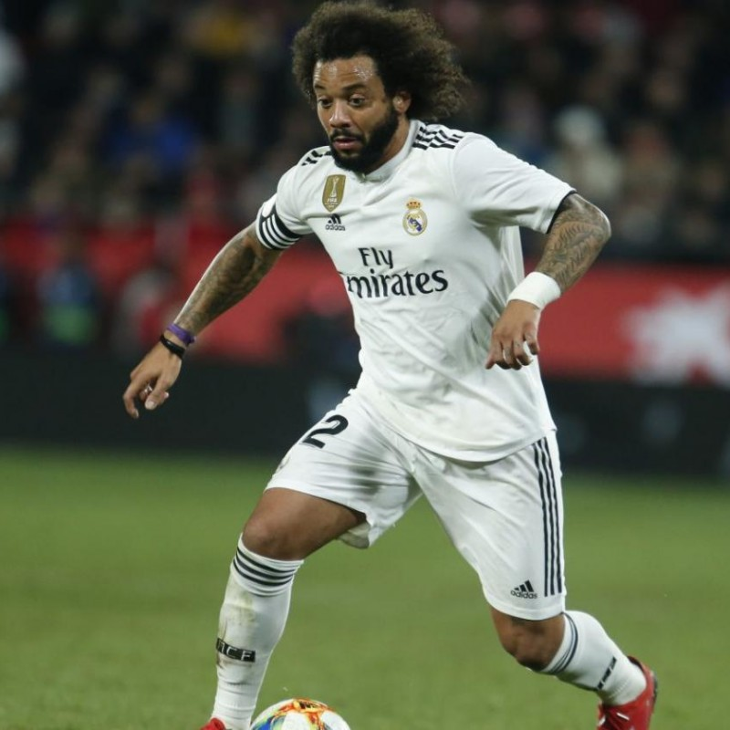 Marcelo's Official Real Madrid Signed Shirt, 2018/19