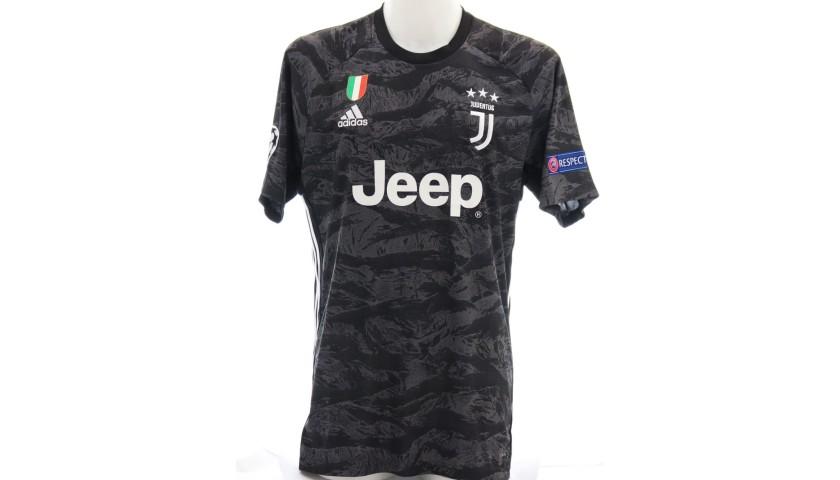 Buffon's Official Juventus Signed Shirt, 2019/20