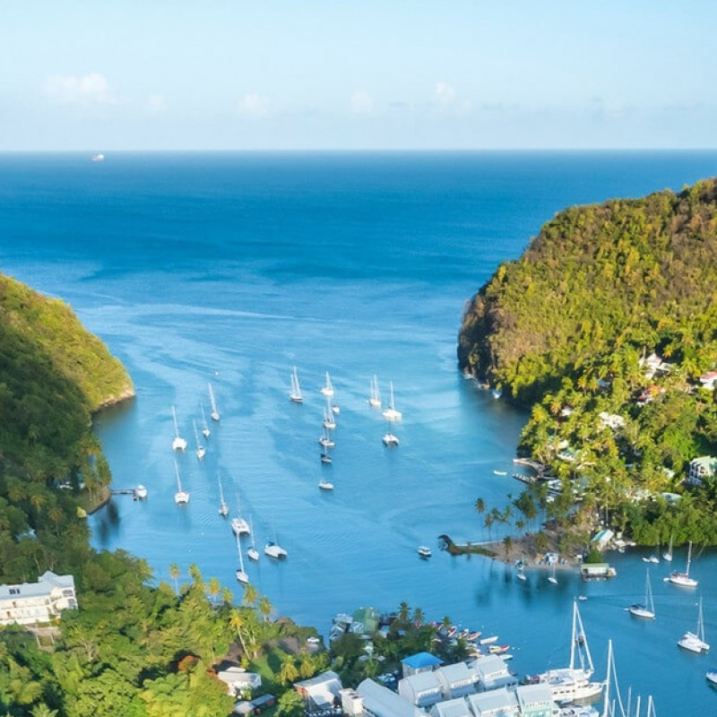 Enjoy 5 All-Inclusive Nights at Marigot Bay, St. Lucia, Plus Airfare