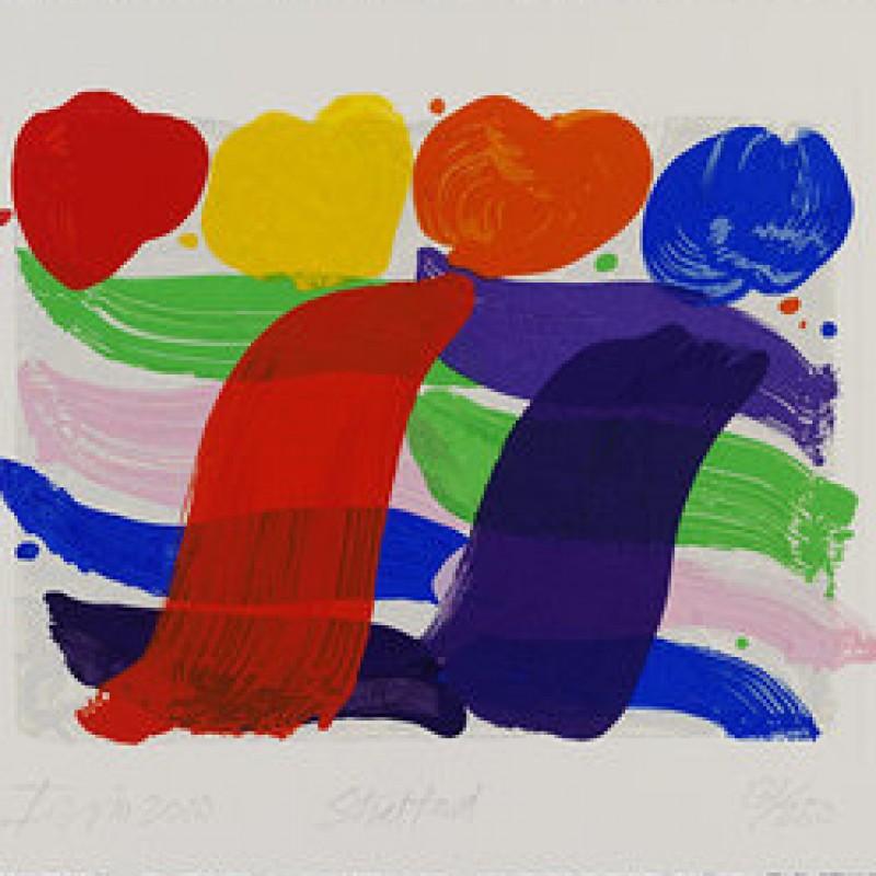 Albert Irvin Artwork - 'Stratford'