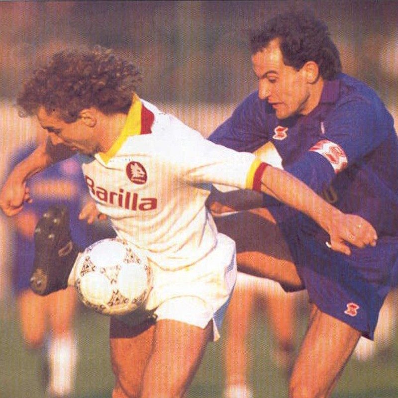 Battistini's Official Fiorentina Kit, 1988/89