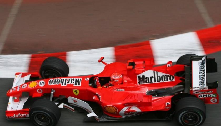 2005 Monaco Grand Prix Michael Schumacher's Worn Gloves
