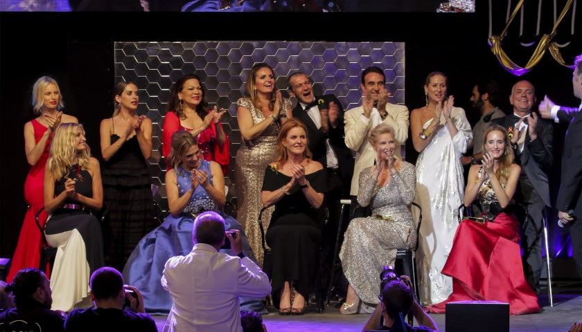 Meet & Greet with Valeria Mazza at Antonio Banderas' Starlite Gala + Corporate Table