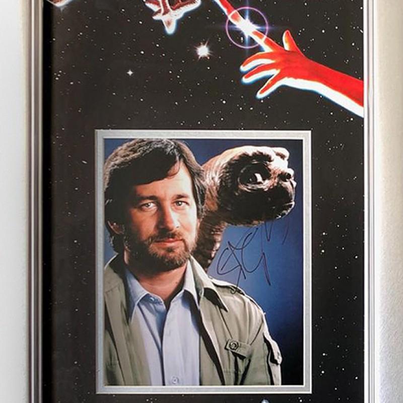 Steven Spielberg Hand Signed 'ET' Presentation