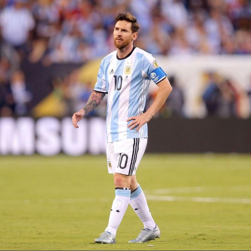Messi's Argentina Worn Shorts, Copa America 2016