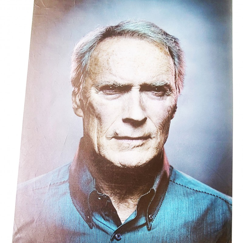 Clint Eastwood Signed Canvas