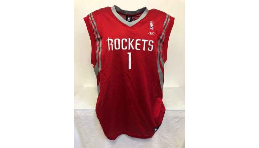 McGrady's Official Houston Rockets Signed Jersey
