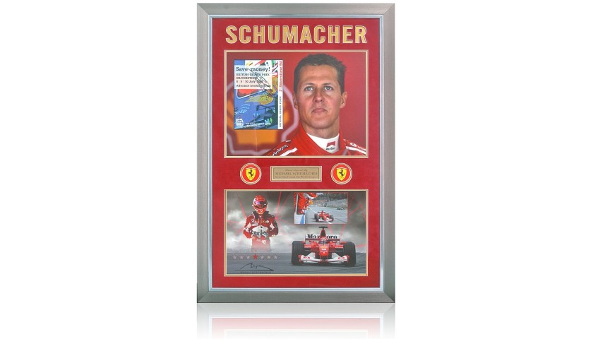 Michael Schumacher Hand-Signed Booking Form