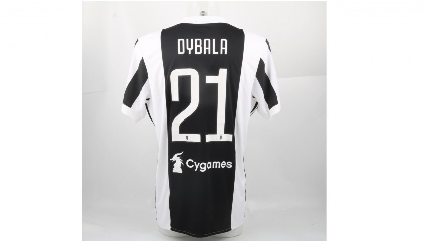 more photos b1bc6 b95b2 Signed Official Dybala Juventus Shirt, 2017/18 - CharityStars