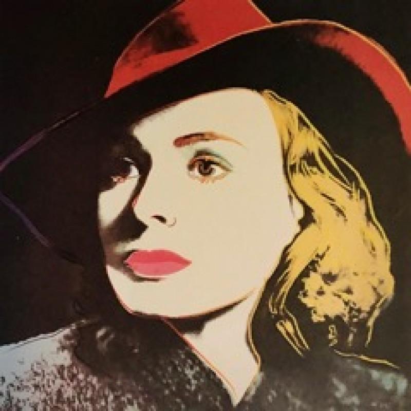 """Ritratti di Ingrid Bergman"" di Andy Warhol"