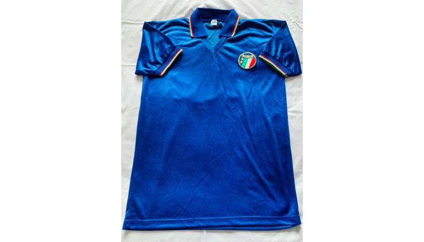 Baggio's Italy Worn Shirt - 1990 World Cup