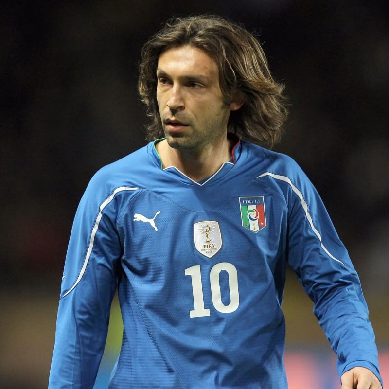 Pirlo's Italy Match Shirt, World Cup 2010