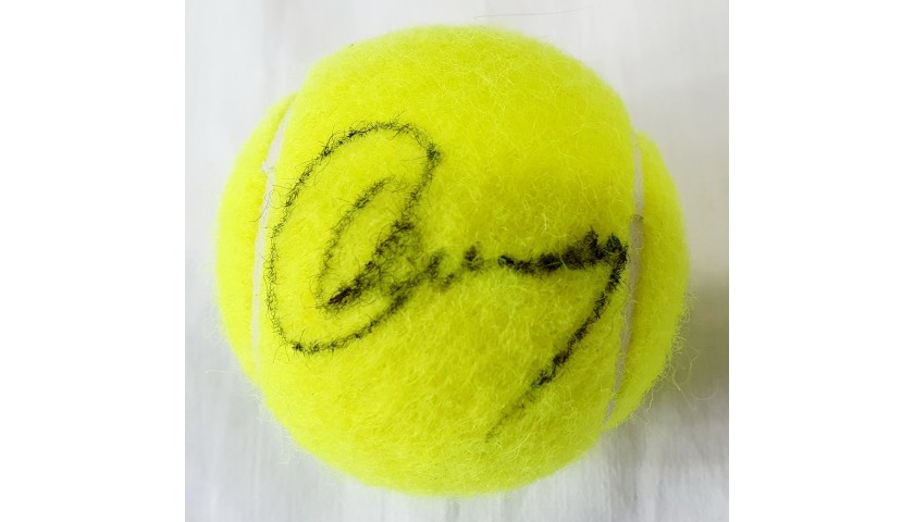 Wilson US Open Tennis Ball Signed by Andy Murray