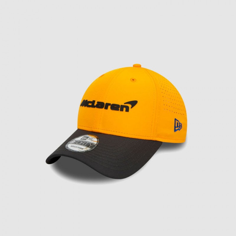 2020 McLaren Cap Signed by Lando Norris and Carlos Sainz