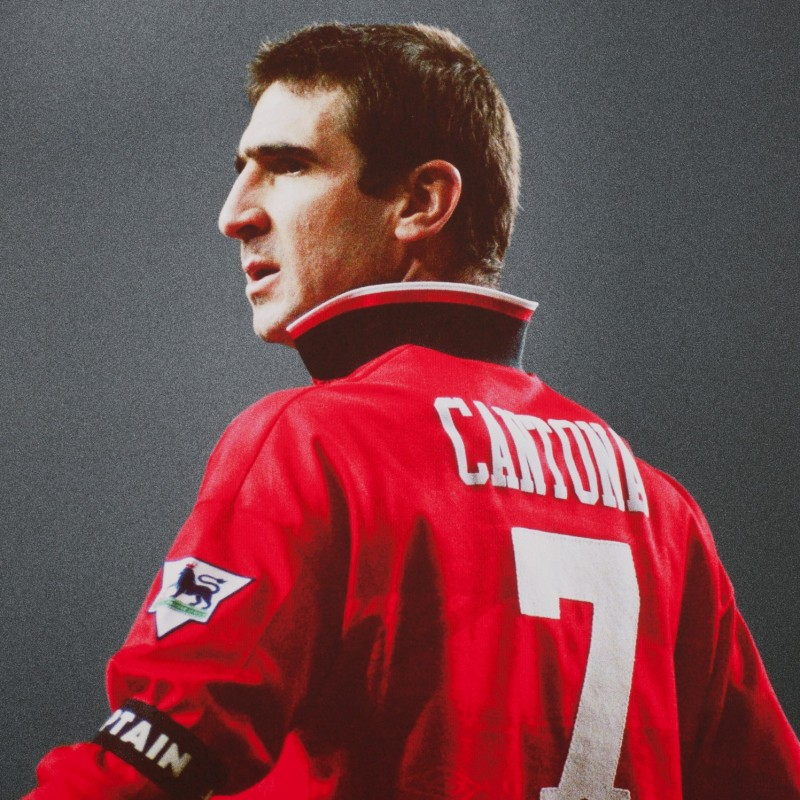 Official Manchester United Shirt Signed by Cantona