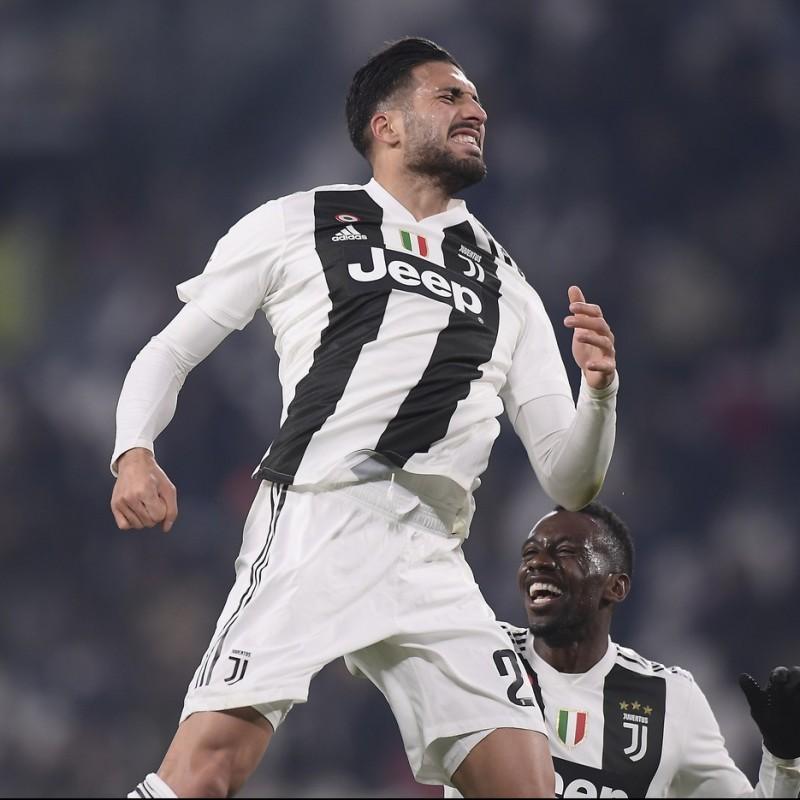 Emre Can's Juventus Worn Shorts, 2018/19