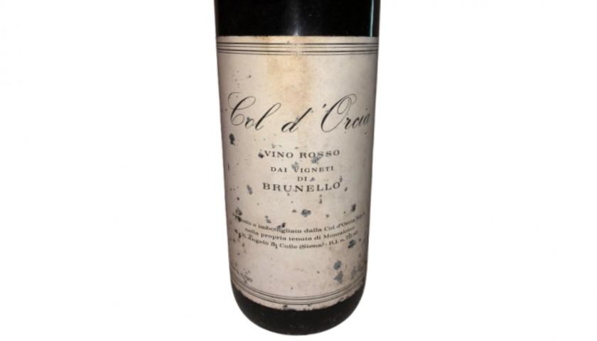 Bottle of Brunello di Montalcino, 1975 - Col d'Orcia