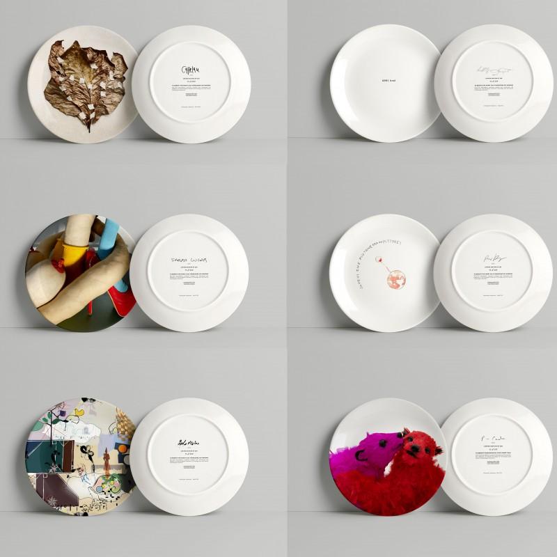 Artist's Dinner Dishes
