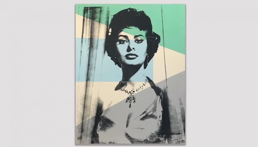 Sophia Loren by Peter Tunney