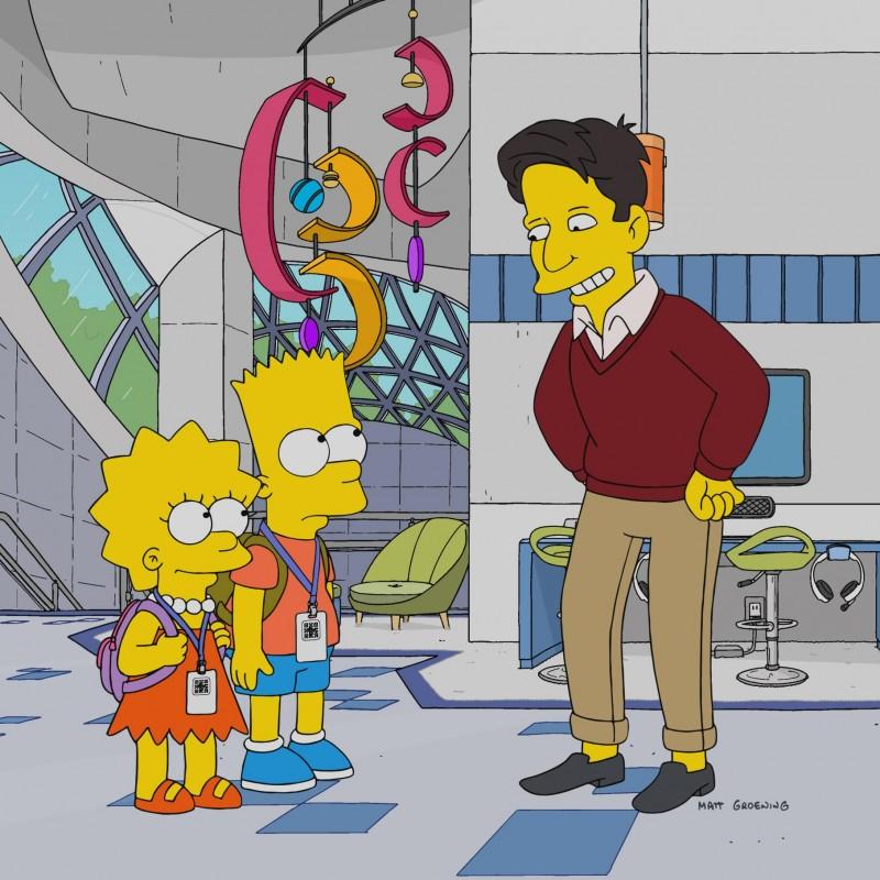 The Simpsons - Original Drawing of Lisa Simpson