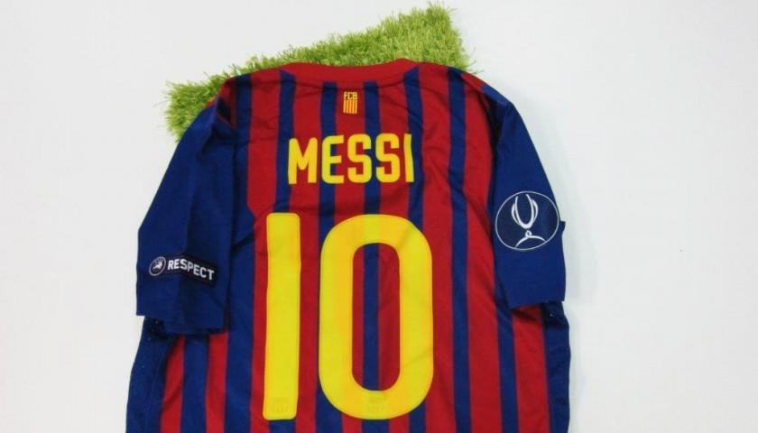 c2cb152c0 Messi s match issued worn shirt
