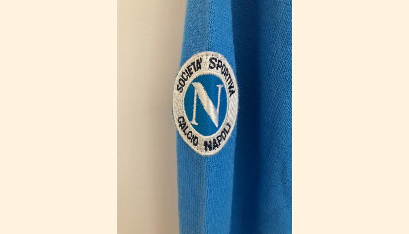 Napoli Shirt Season 1987/88 - Worn by Bagni