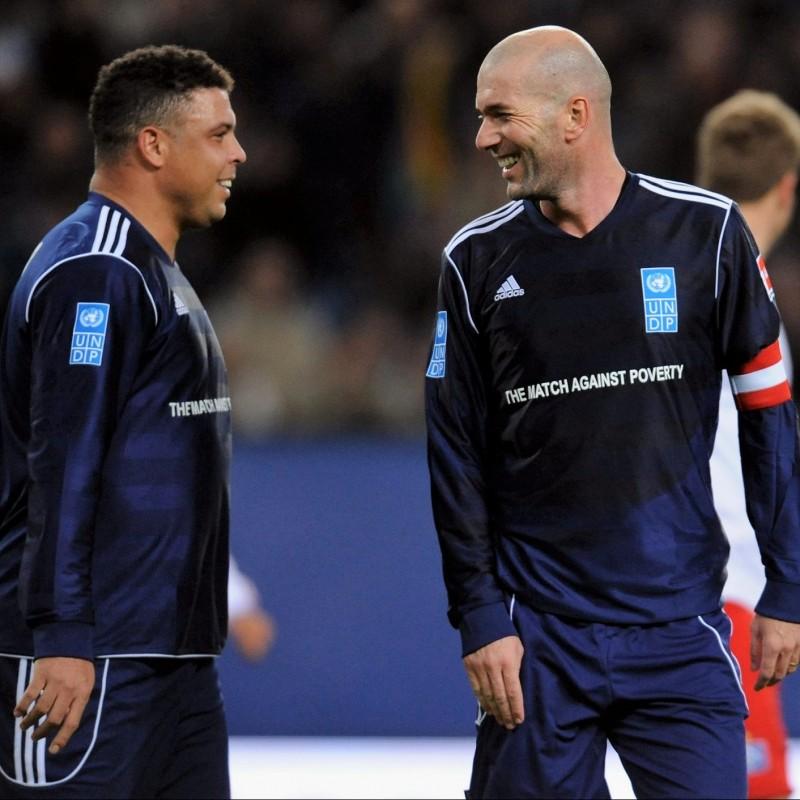 6918eaa03 Zidane s UNDP Match-Issue Worn Shirt
