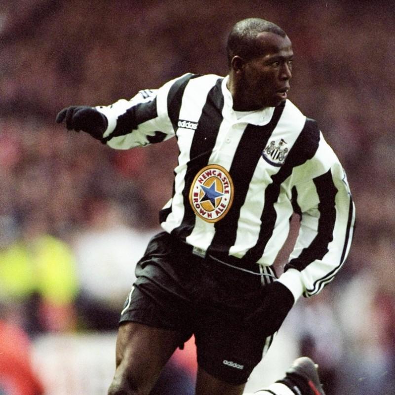 Asprilla's Official Newcastle Signed Shirt, 1996/97