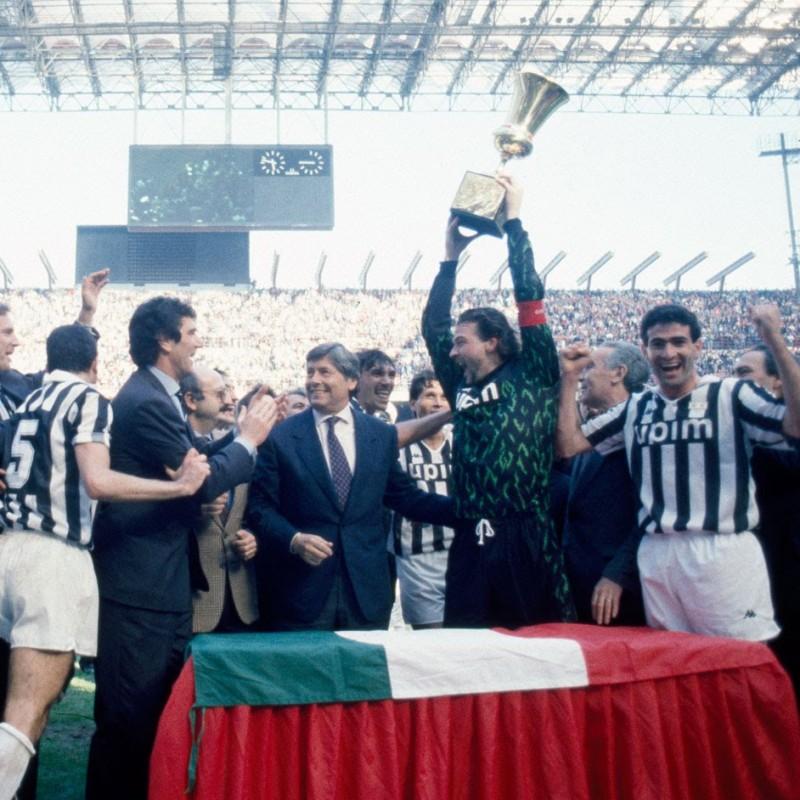Maglia gara Casiraghi Juventus, Finale Coppa Italia 1990