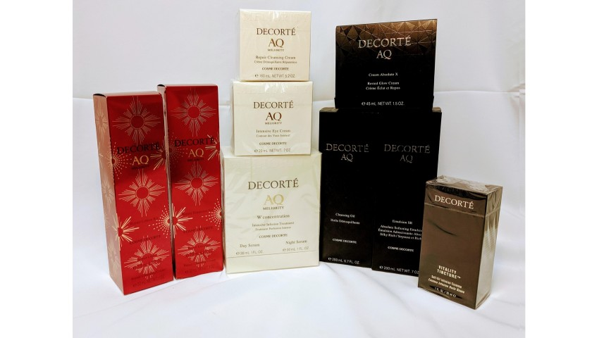 DECORTÉ Cosmetics AQ Luxurious Skincare