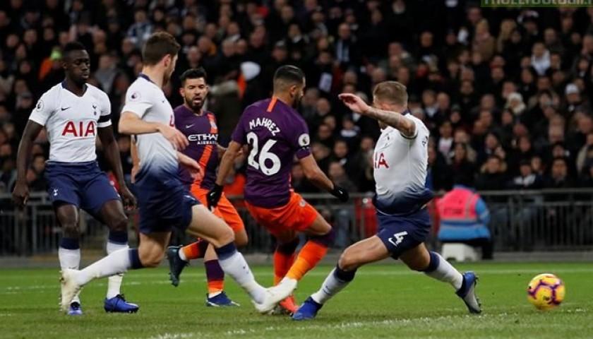 Mahrez's Manchester City Match Shorts Orange, Premier League 2018/19