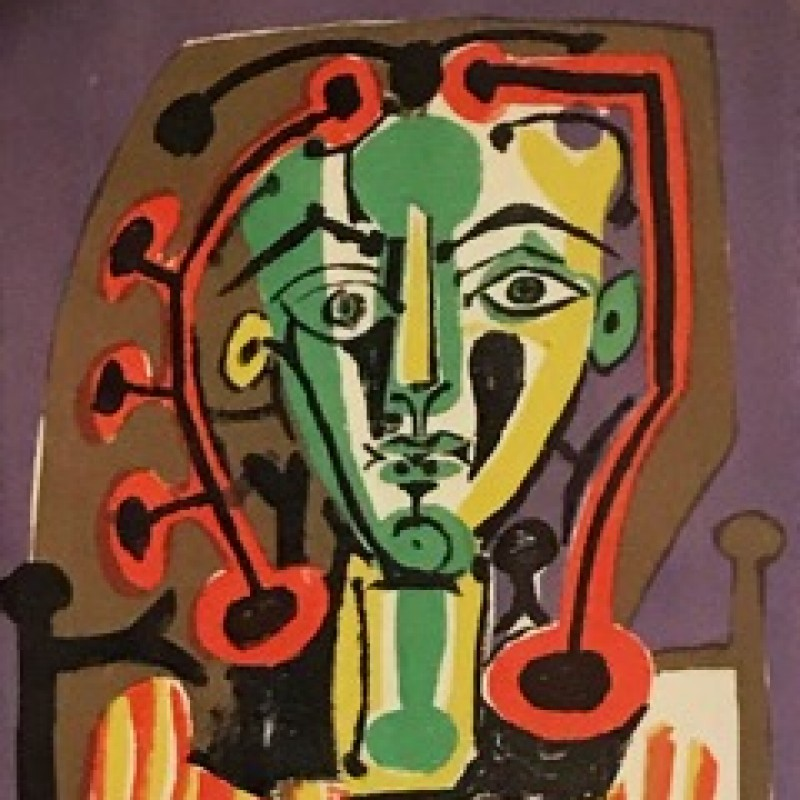 """Homme Pensant"" by Pablo Picasso"