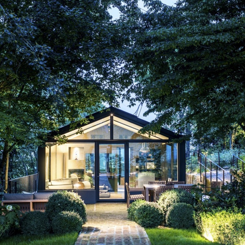 Romantic Overnight Stay for 2 at the Glass House, Northern Italy
