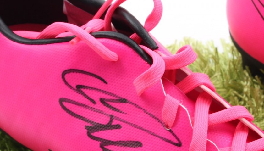 Nike Mercurial Boots, Signed by Cristiano Ronaldo