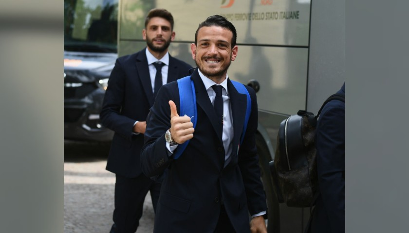 Italy National Football Team Suit Worn by  Florenzi