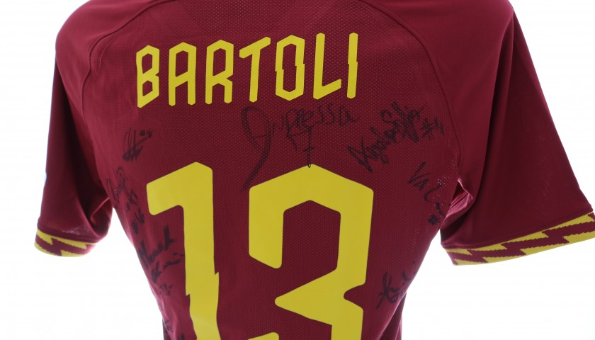 Bartoli's Roma Match Shirt, 2019/20 - Signed by the Squad