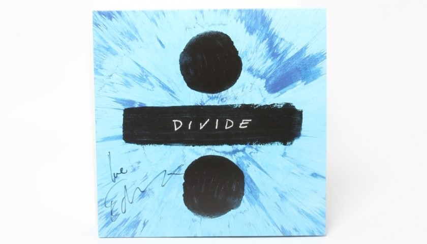 Signed Ed Sheeran LP Vinyl