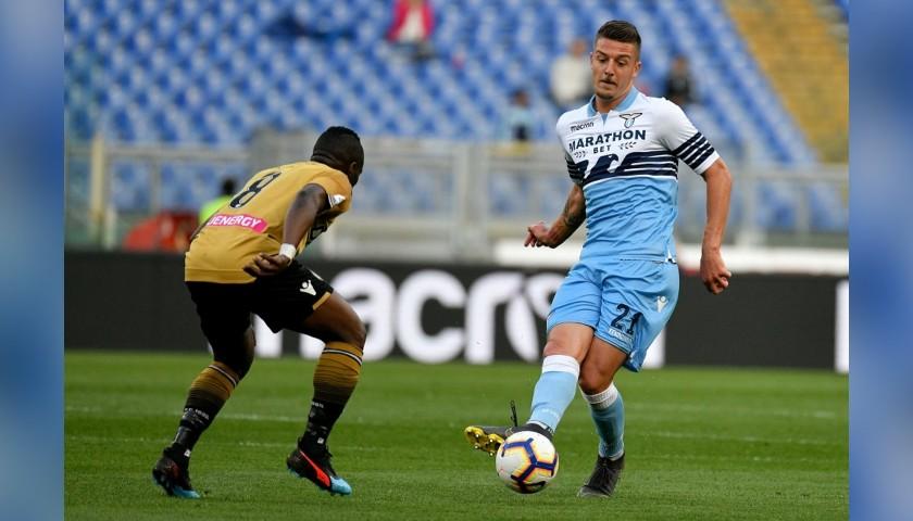 Official Serie A 2018/19 Football - Signed by Milinković-Savić